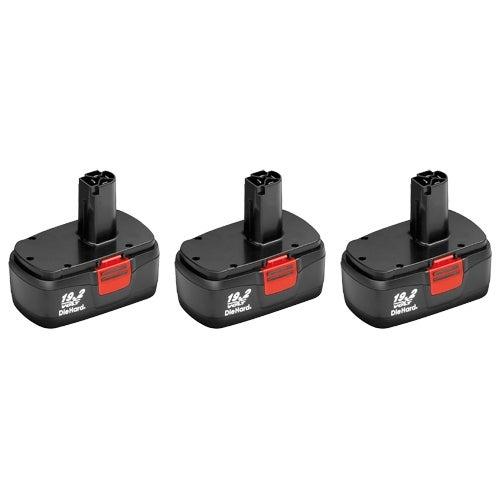 3 Pack Replacement for Craftsman 11375 DieHard C3 130279005 2000mAh Power Tool Battery