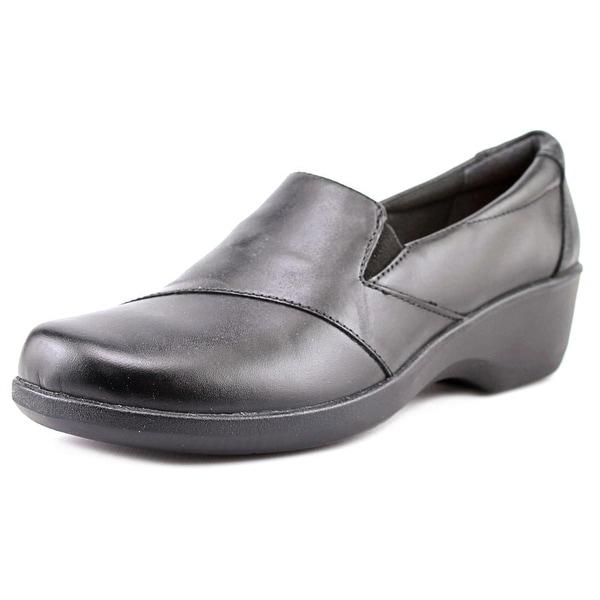 Clarks Narrative Esha Clair Women Round Toe Leather Black Loafer