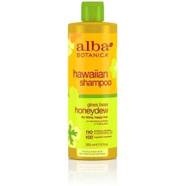 Alba Botanica Hawaiian Hair Care Honeydew Gloss Boss Shampoo, 12 oz