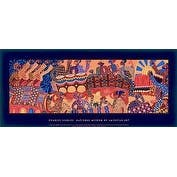 ''Celebration'' by Charles Searles African American Art Print (16 x 36 in.)