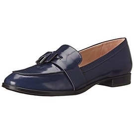 Via Spiga Womens Amica Leather Slip On Loafers - 6.5 medium (b,m)
