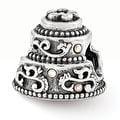 Sterling Silver Reflections Swarovski Wedding Cake Bead (4mm Diameter Hole) - Thumbnail 0