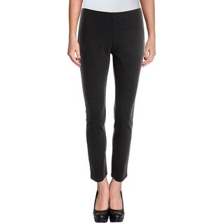 Eileen Fisher Womens Petites Leggings Stretch Solid - pp