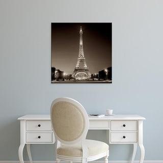 Easy Art Prints Alan Blaustein's 'Tour Eiffel #1' Premium Canvas Art