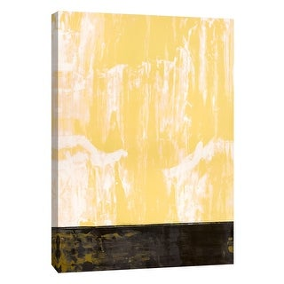 "PTM Images 9-105298  PTM Canvas Collection 10"" x 8"" - ""Squeegeescape 10"" Giclee Abstract Art Print on Canvas"