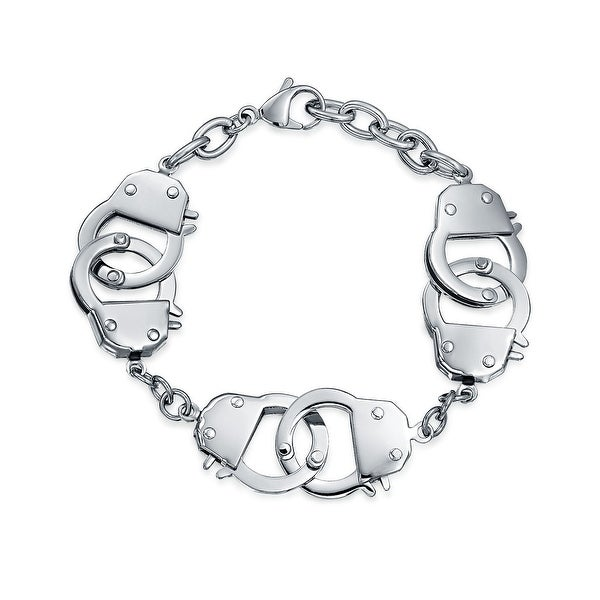 Hand Cuff Bracelet Chain Stainless Steel