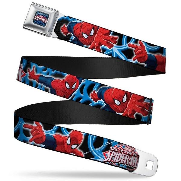 Ultimate Spider Man ultimate Spider Man Web Full Color The Ultimate Spider Seatbelt Belt