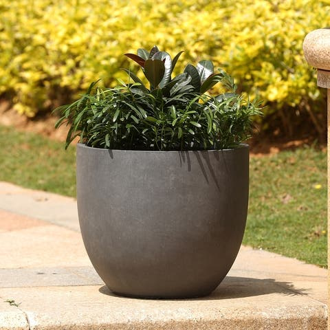 MgO Round Indoor/Outdoor Planter