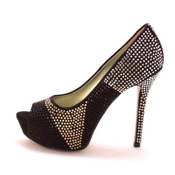 Enzo Angiolini Womens Eatonell Peep Toe Classic Pumps - 6.5