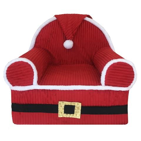 Baby Santa's 1st Christmas Foam Chair