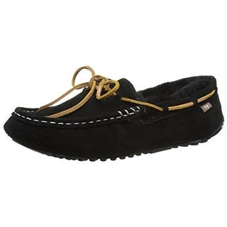 Dije California Womens Daisy Driving Moccasins Suede Sheepskin Lined