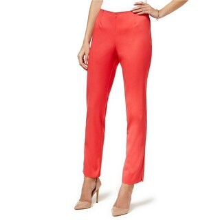 Charter Club Slim Leg Ankle Pants Crushed Coral - 16