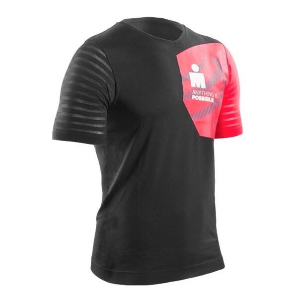 Compressport Men's Ironman 2017 Technical Training Short Sleeve Shirt - TSTN-IM17