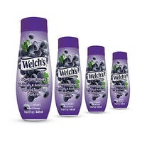 SodaStream Welch's Concord Grape (4 Pack) Soda Mix Welchs Sparkling Concord Grape