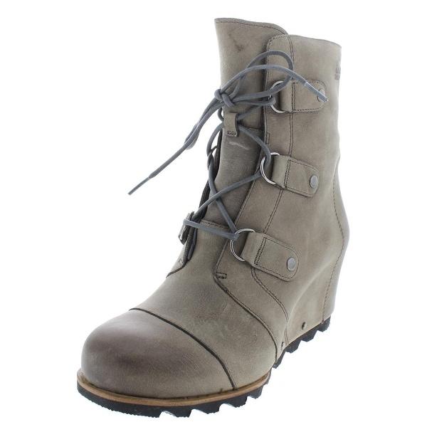 1b5800441af Sorel Womens Joan Of Arctic Wedge Boots Leather Waterproof - 11 medium (b
