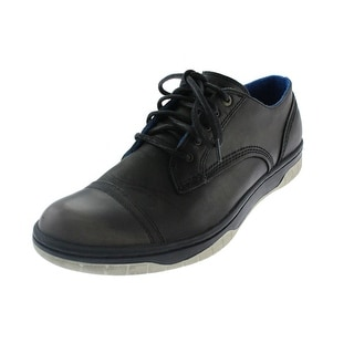 Diesel Mens On-Class Distressed Oxfords