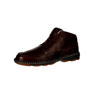 Rocky Outdoor Boots Mens Cruiser Casual Chukka Leather Brown RKS0207