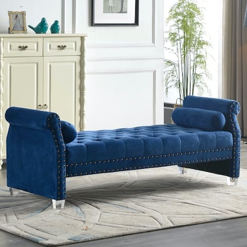 Brittany Flared Arm Upholstered Sofa Bed
