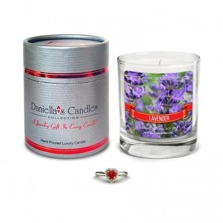 Daniella's Candles Lavender Jewelry Candle - Ring Size 6