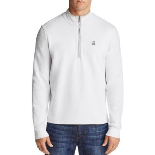 Psycho Bunny Half-zip Golf Pullover Sweatshirt Small 4 White and Golf Tees Set