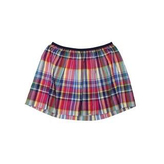 Polo Ralph Lauren Girls Flare Skirt Plaid