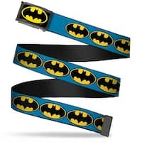 Batman Fcg Black Yellow Black Frame Bat Signal 3 Blue Black Yellow Web Belt