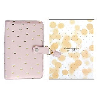 Webster's Pgs CC Planner Kit Prsnl Boxed Blush/Gld