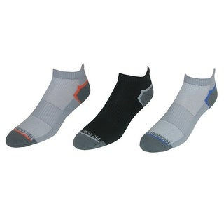 Fruit of the Loom Men's Breathable Low Cut Tab Socks (3 Pair Pack) (2 options available)