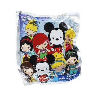 Disney Series 1 Blind Bag 3-D Figural Key Ring - multi