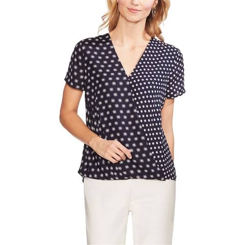 Vince Camuto Womens Foulard Pullover Blouse