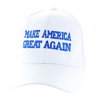 "Donald Trump 2016 ""Make America Great Again"" White Hat"