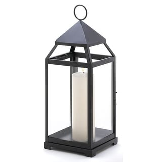 Small and Large Contemporary Candle Lanterns