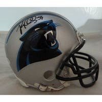 Luke Kuechly Autographed Carolina Panthers Mini Helmet JSA