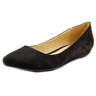 CL By Laundry Suzie Open Toe Synthetic Wedge Heel
