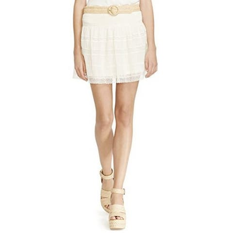 Polo Ralph Lauren Womens Lace Mini Skirt (M) - Clubhouse - Medium
