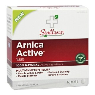 Similasan Arnica Active Tablets (60 Tablets)