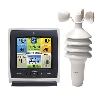 Chaney Instruments 00589 Acurite Pro Color Weather Station With Wind Speed