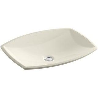 "Kohler K-2382 Kelston 19"" Undermount Bathroom Sink with Overflow (Option: Powder Coated)"