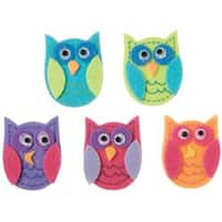 Funky Owls - Felties Stickers 10/Pkg