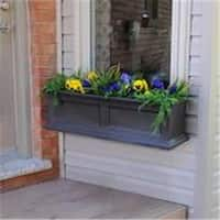 Mayne 5822-ES 3 ft. Fairfield Window Box - Espresso
