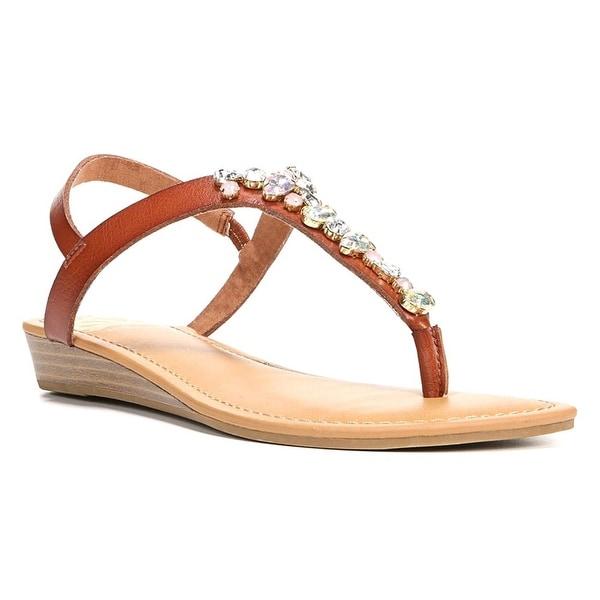 Fergalicious Womens Tasso Open Toe Casual T-Strap Sandals