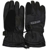 Boulder Gear Mens Winter Glove, Black, M - MEDIUM