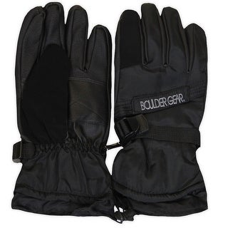 Boulder Gear Mens Winter Glove, Black, M