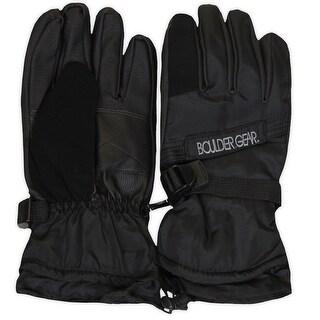 Boulder Gear Mens Winter Glove, Black, XL