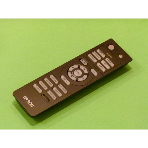 Epson Projector Remote Control: EH-TW4500, EH-TW5000, EH-TW5500
