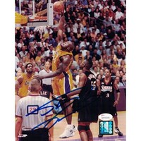 e11da55d Shop Shaquille O'Neal Autographed Los Angeles Lakers Yellow size XL ...