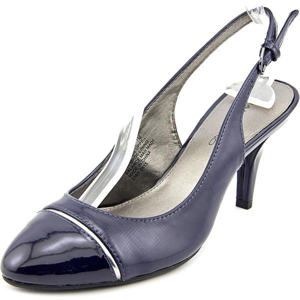 Bandolino Nekesh Round Toe Synthetic Slingback Heel
