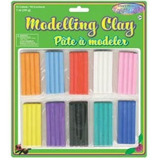 Assorted - Modeling Clay 200G 10/Pkg