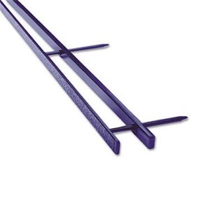 GBC VeloBind Reclosable Spines- 200 Sheet Capacity- Blue- 25/Pack