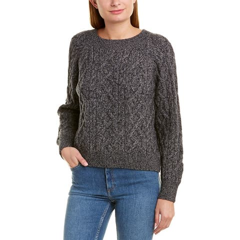 Vince Boatneck Wool & Cashmere-Blend Sweater